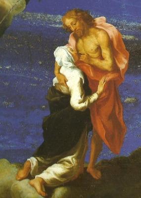 1a. Mistyczna wizja św. Katarztny ze Sieny (Galeria Porczyńskich, Warszawa)