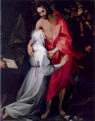 2a. Przyjaciele Boga (Francesco Vanni, św. Katarzyna,  XVI w. )