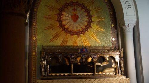 9a. Relikwie św. Małgorzaty Marii Alacoque w Paray-le-Monial
