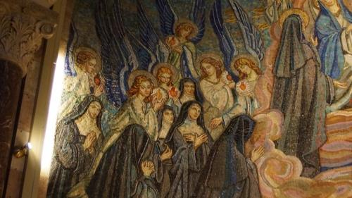 14a. Hołd wizytek i jezuitów Bożemu Sercu (fragment)